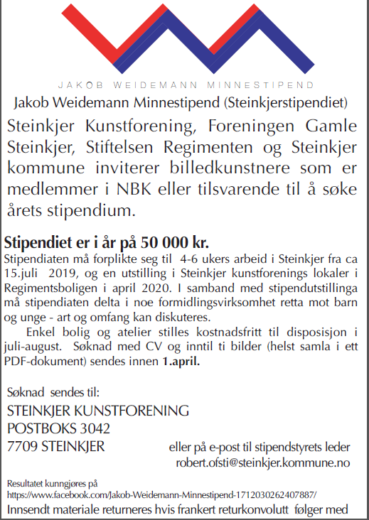 Weidemann minnestipend